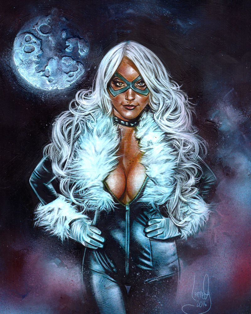 Black Cat, Artwork© Jeff Lafferty