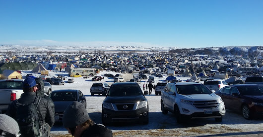 My Brief Stay at Standing Rock