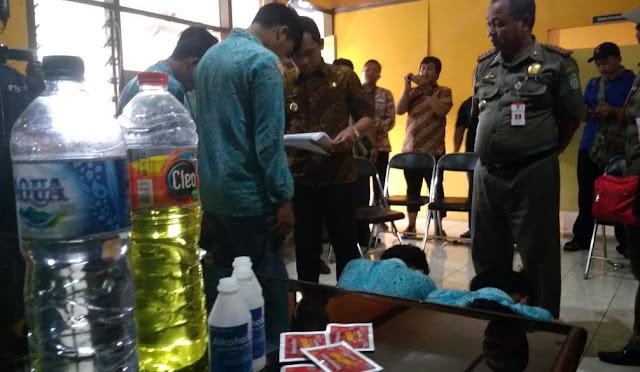 Delapan pelajar ditangkap Satpol PP