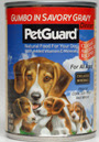 Picture of Petguard Gumbo In Savory Gravy Dinner Canned Dog Food