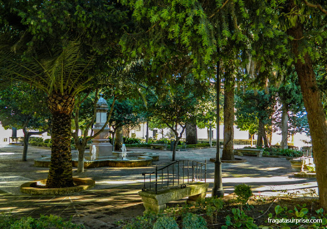 Ronda, Andaluzia, Praça Duquesa de Parcent