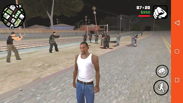 Zombie Mod for GTA SA Android v1.4 [BEST] mod pack download best zombie mod