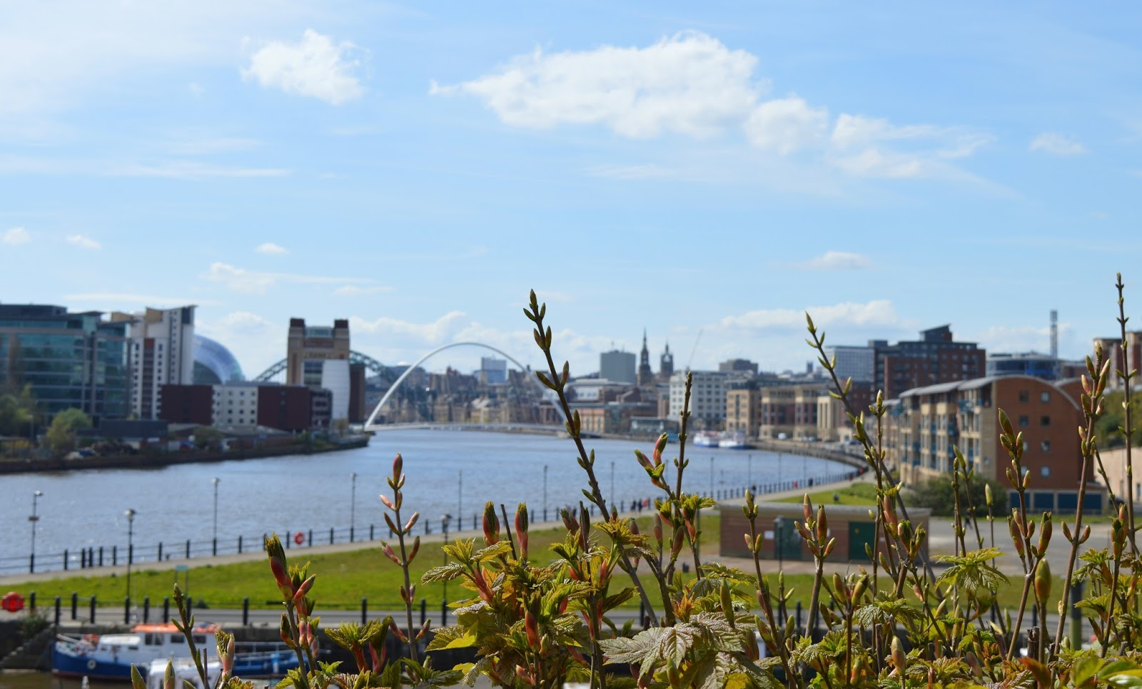 10 Places To Visit | Newcastle - Gateshead Quayside - Free Trade Inn Beer Garden View