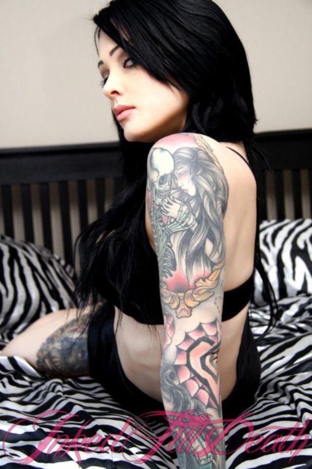 Tatuaje de halloween