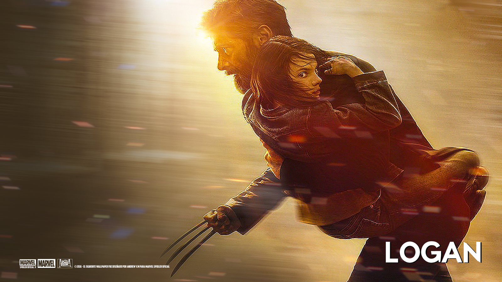 Logan 2017 Movie Hd Wallpaper: Marvel Spoiler Oficial: Nuevo Wallpaper De Logan 2017