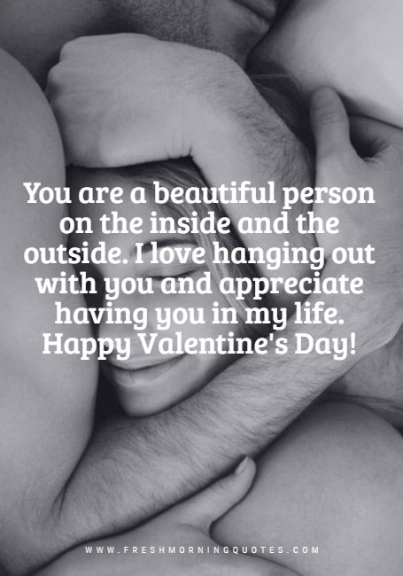you are beautiful Happy Valentines Day SMS messages for Husband Wife and Girlfriend