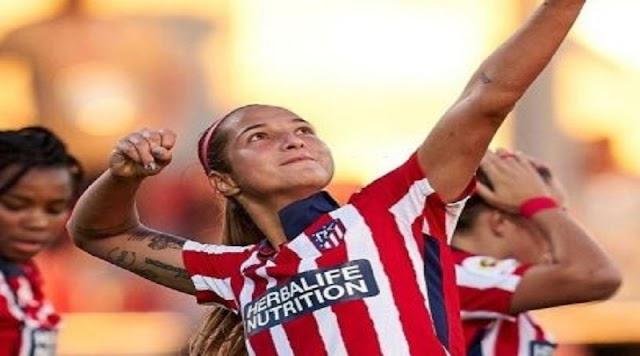 La delantera venezolana, Deyna Castellanos fue elegida del mes de diciembre en el Atlético de Madrid