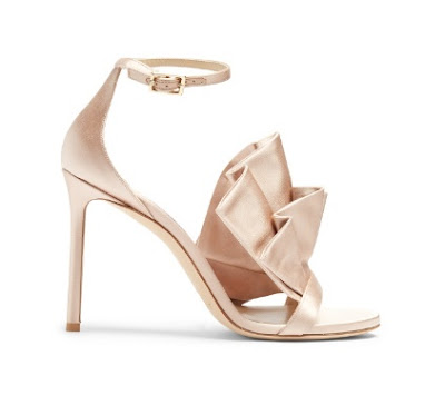 Jimmy Choo Satin High Heeled Sandals