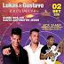 SAJ: Lucas e Gustavo Exclusive no Clube dos 100 neste Sábado (02)