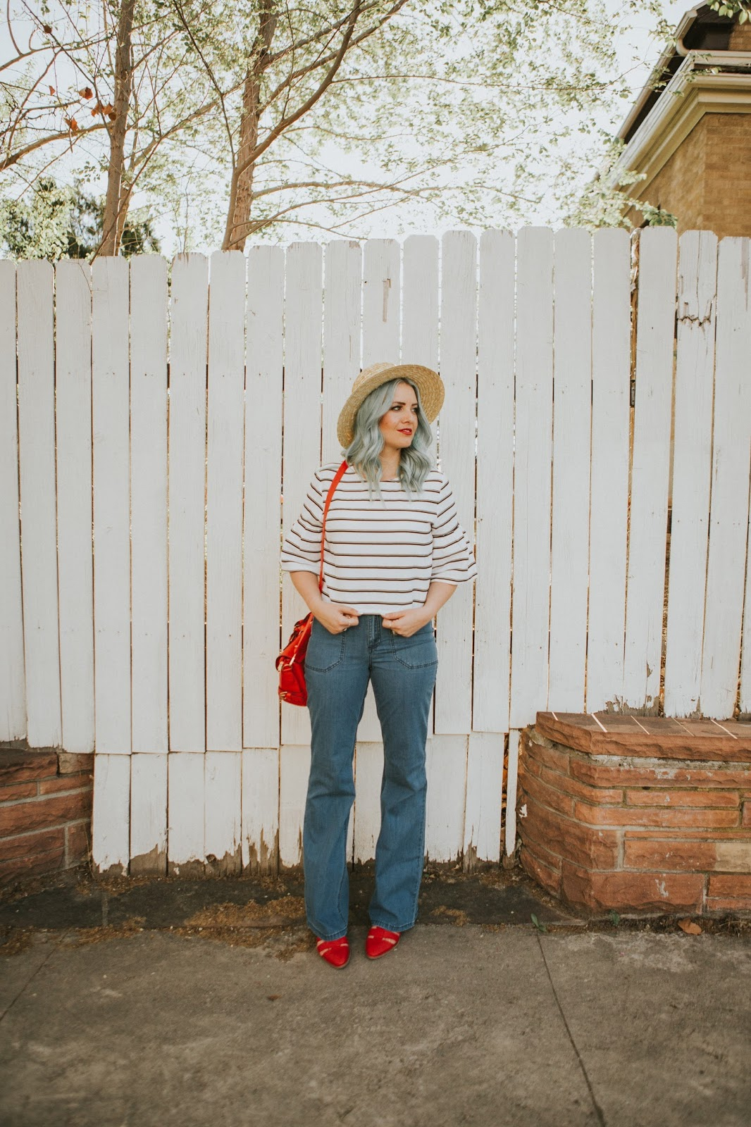 Modest Outfit, Stripes, Target Style, Tall Girl Style