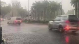 मौसम का बदला मिजाजः दिल्ली-NCR में तेज बारिश के साथ गिरे ओले