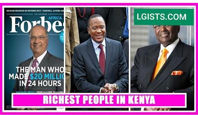Kenyan riches man