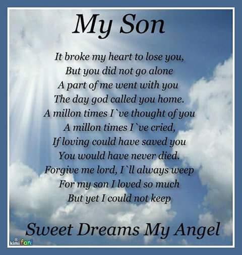 Grandmalay's Daydreams: Happy Birthday In Heaven,To My Son!