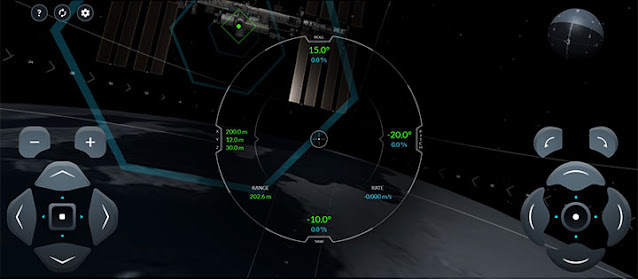 Neat simulator that runs on your laptop for docking with the ISS (Source: iss-sim.spacex.com)