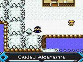 Pokemon Prism en Español para GBC Ciudad Alcaparra