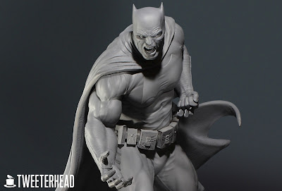San Diego Comic-Con 2020 Exclusive Dark Knight Batman Artist Proof Edition Maquette Statue by Tweeterhead
