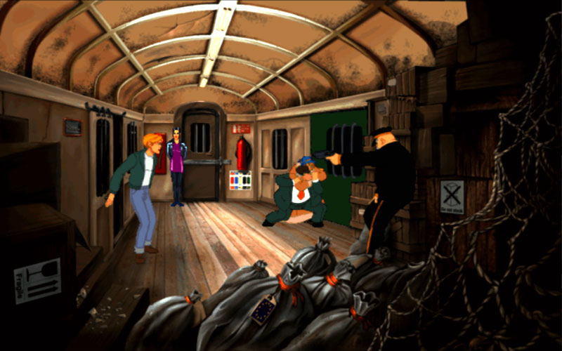 Broken Sword Captura de pantalla 15