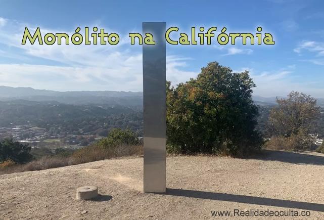 Terceiro mónolito; Agora na Califórnia