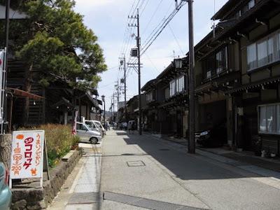 岐阜県飛騨市古川町の古い町並み