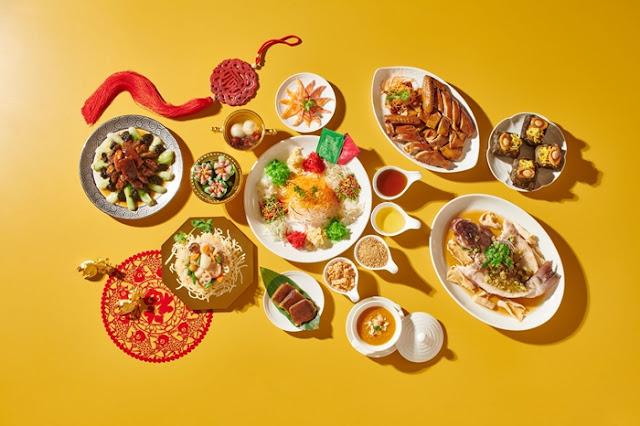 Shangri-La Kuala Lumpur Delivery Service, CNY Set Menu, CNY Hampers, Food