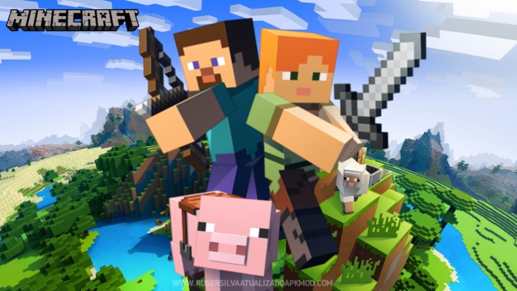 Download Minecraft PE 1.17.12.01 media fire atualizado