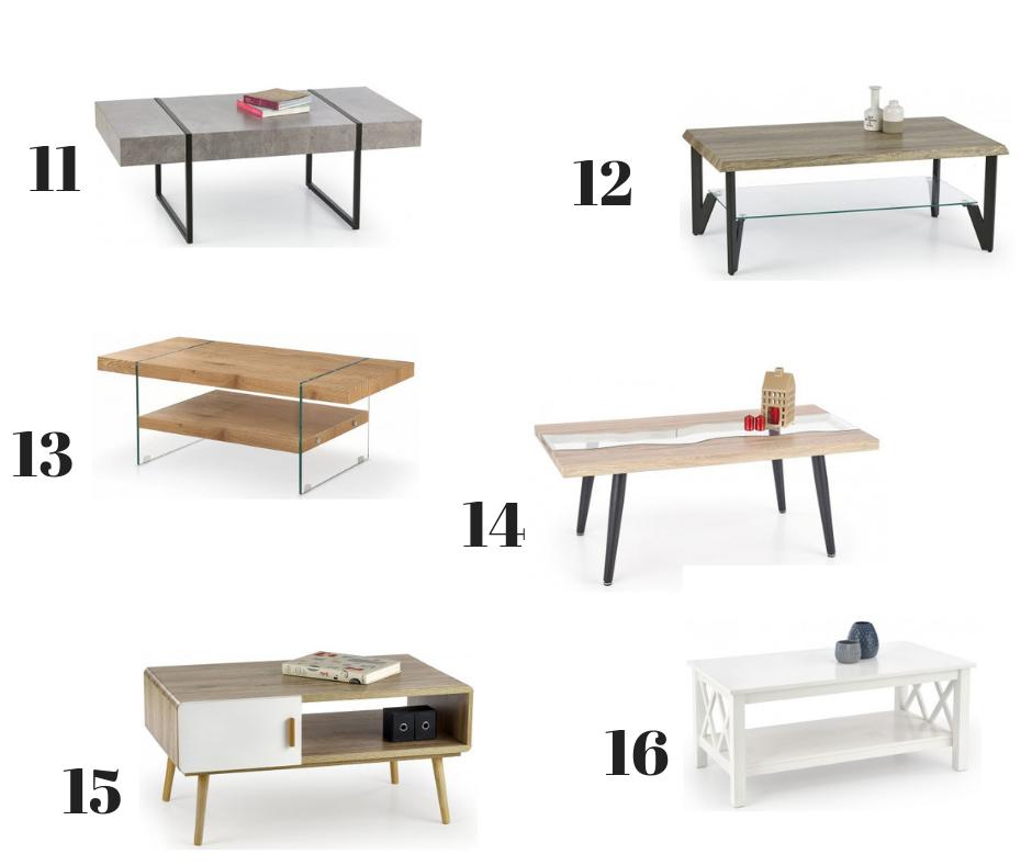 stolik w stylu nowoczesnym