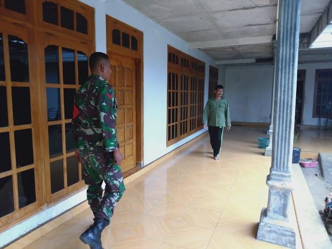 Bapak Paidi : Sebuah Kebanggaan Bagi Kami Dapat Menyediakan Tempat Menginap Bagi Bapak-Bapak TNI Dalam TMMD ke-106 Kodim 0802