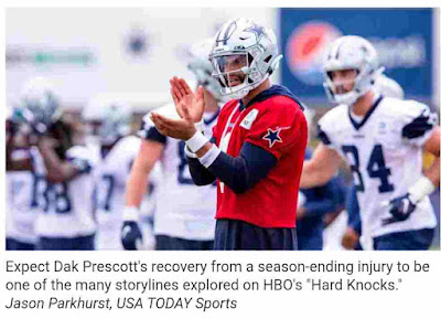 Dallas Cowboys on 'Hard Knocks': From rookies to Jerry Jones, five key characters to keep your eye on