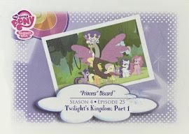 "My Little Pony ""Princess"" Discord Series 3 Trading Card"