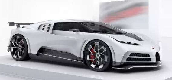Bugatti Centodieci 9 Million Dollar Hyper Car Side View