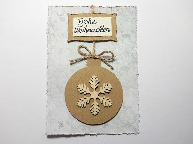 Weihnachten, Advent, selber basteln, Karten aus Papier, Weihnachtspost