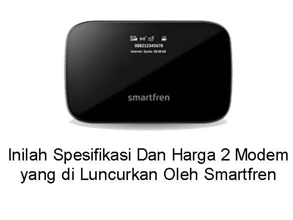 Smartfren Luncurkan 2 Modem WIFI Baru dan Inilah Daftar Paket Beserta Harganya