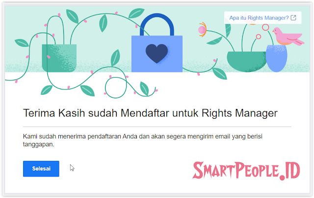 Tips Agar Diterima Rights Manager