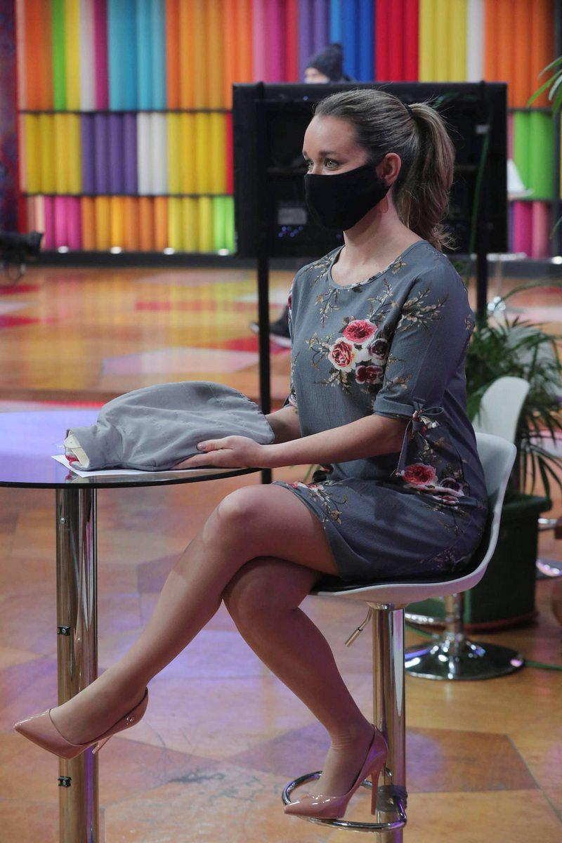 Por qué Carla Zunino animó el matinal de TVN con mascarilla