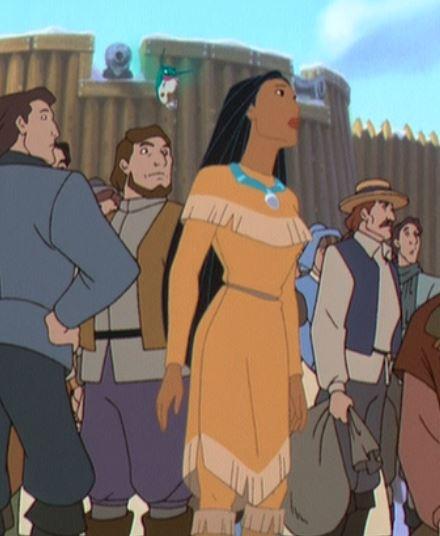 Pocahontas em Jornada ao novo mundo