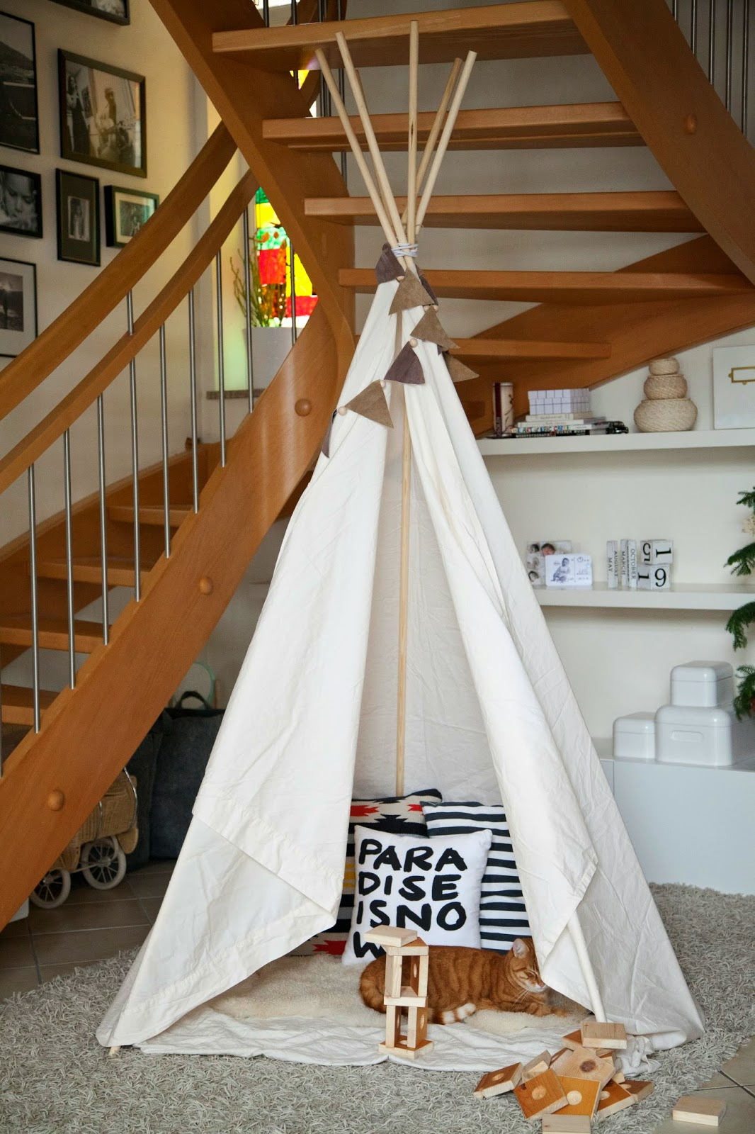 Tipi Zelt Kinderzimmer Selber Nähen Frisch Tipi Zelt Für
