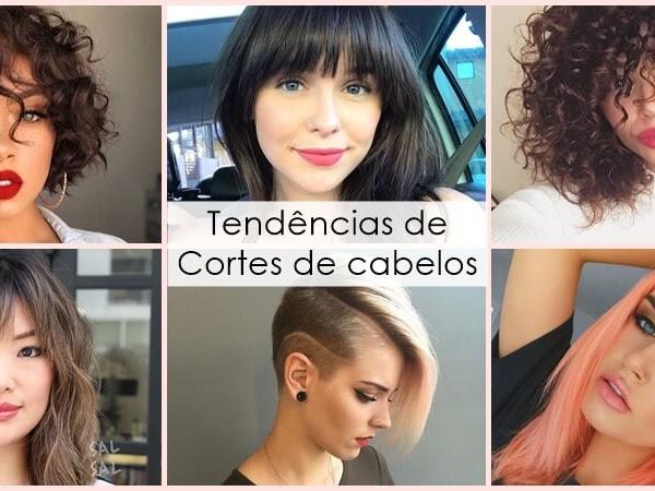 Cortes de cabelos 2019 | Tendência de cortes femininos