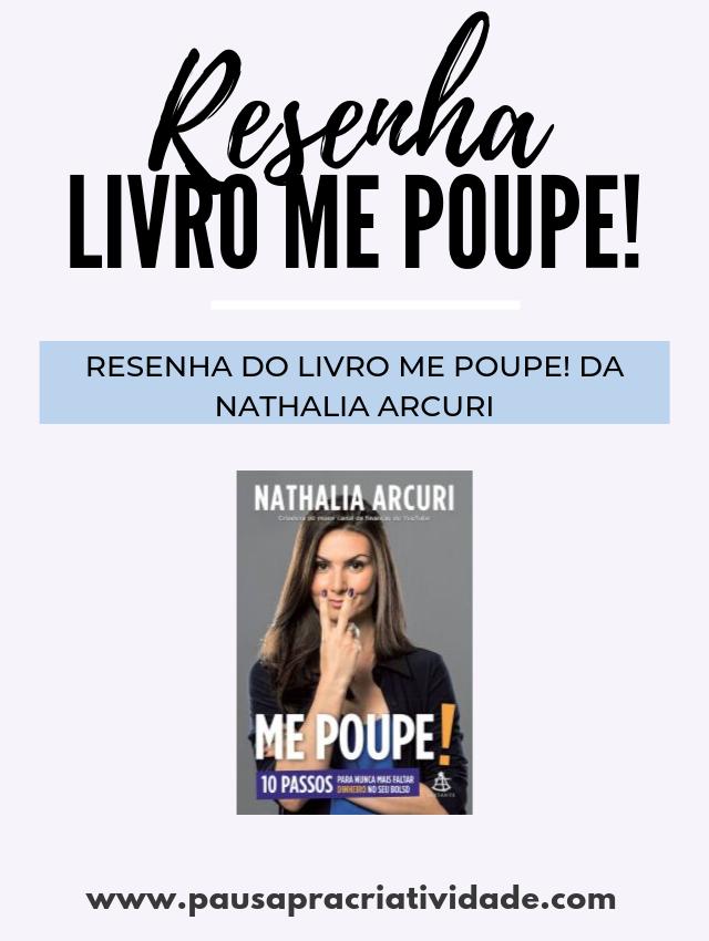 Livro Me Poupe! da Nathalia Arcuri