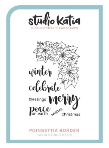 Studio Katia - POINSETTIA BORDER