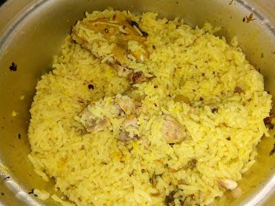 Resepi Nasi Arab Mudah