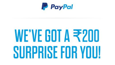 Holi Loot - PayPal is Sending ₹200 Free Coupon - Gift Voucher