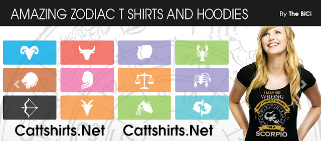 zodiac t shirt and hoodie