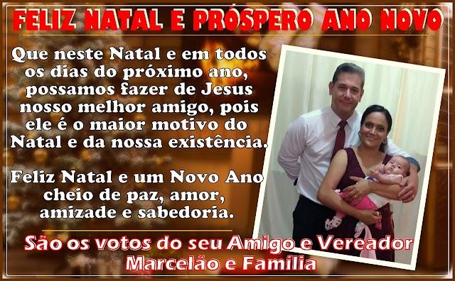 Mensagem do Vereador Marcelão