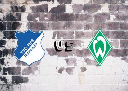 Hoffenheim vs Werder Bremen  Resumen