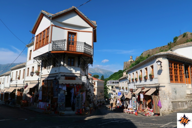 Argirocastro, vecchio bazar