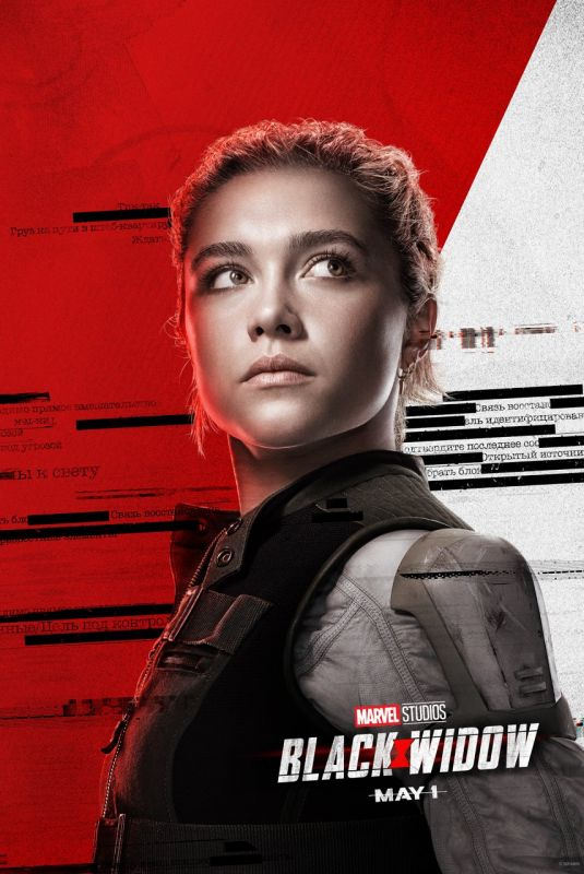 Florence Pugh  Black Widow Poster  - 2020