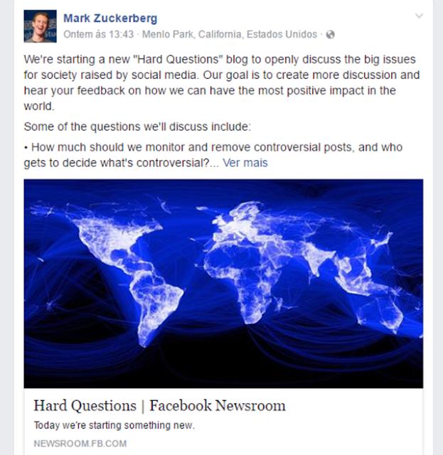 Facebook usa inteligência artificial no combate ao terrorismo; entenda