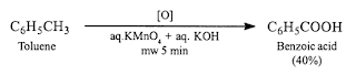 Oxidation-of-toluene-microwave-assisted-reaction