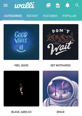 Walli wallpapers app