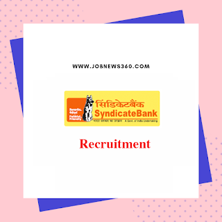 Syndicate Bank Recruitment 2019 for Senior Manager (6 Vacancies)